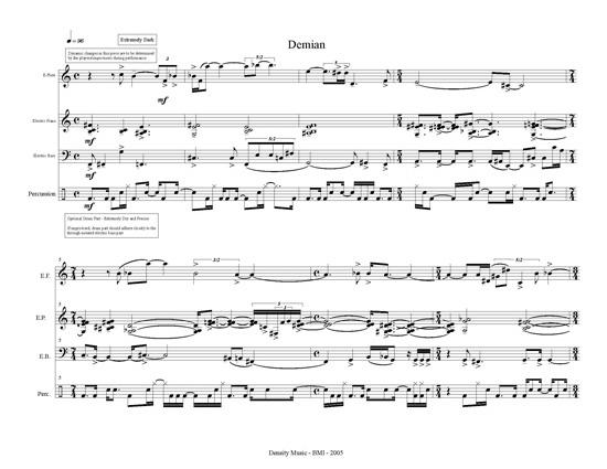 Demian Score